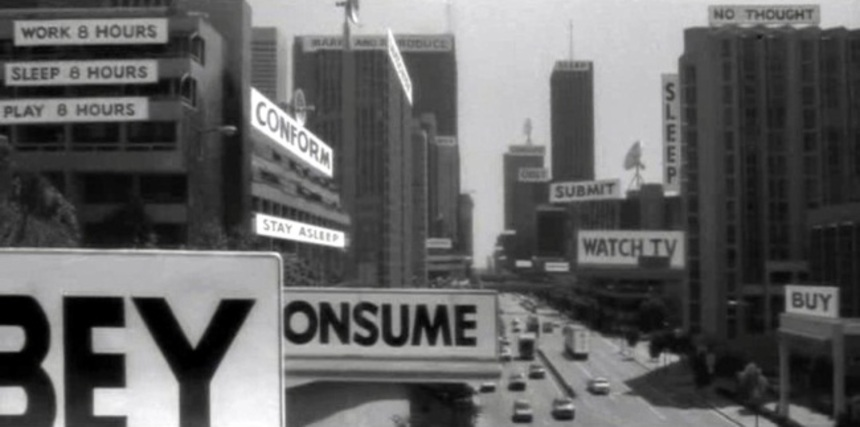 Obey, Consume, Remake:  THEY LIVE is the next John Carpenter film up for a Reboot