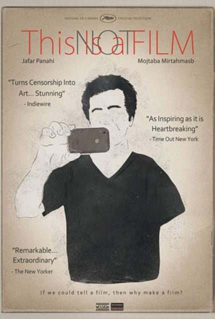 US Trailer For Iranian Director Jafar Panahi's THIS IS NOT A FILM