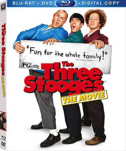 Contest: Win a Blu-ray Copy of The Farrelly Brothers' THE THREE STOOGES