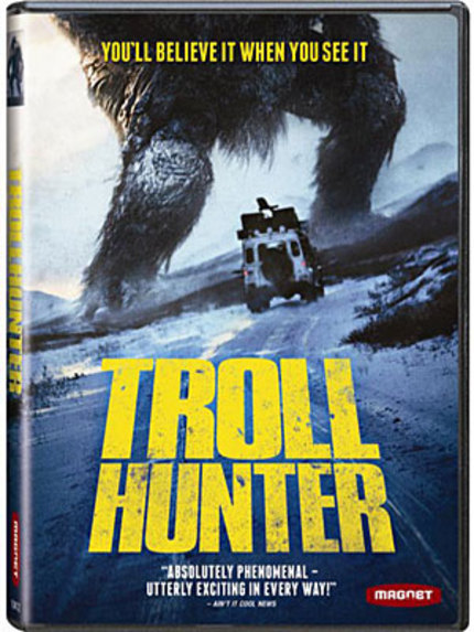 Labor Day Giveaway Number Two: TROLLHUNTER On DVD From Magnet!