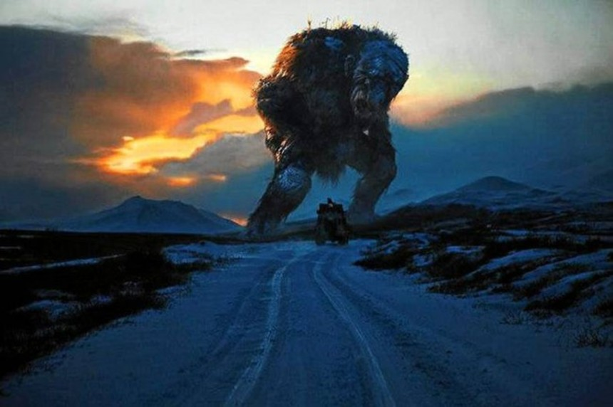 Trolls In The Hills? The Trolls ARE The Hills! First Creature Image From Andre Ovredal's TROLL HUNTER!