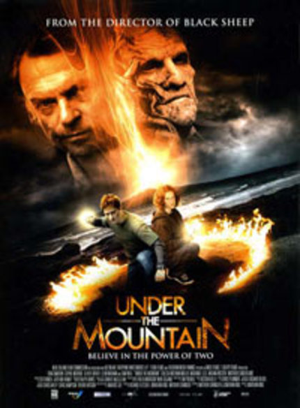 Poster for Jonathan King's UNDER THE MOUNTAIN