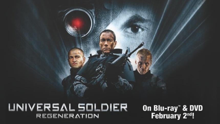 UNIVERSAL SOLDIER REGENERATION Giveaway!