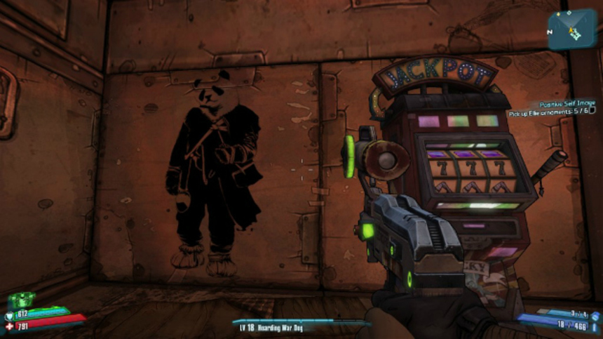 Borderlands 2 Includes WASTELANDER PANDA Easter Egg