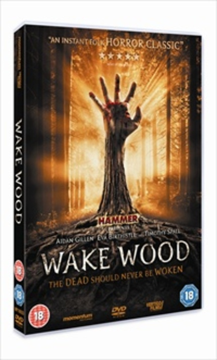 A trailer for new Hammer film WAKE WOOD