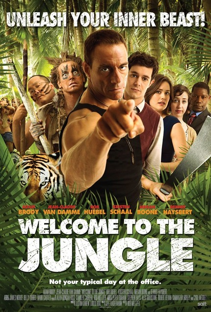 Van Damme Gets Silly In Two Clips From WELCOME TO THE JUNGLE