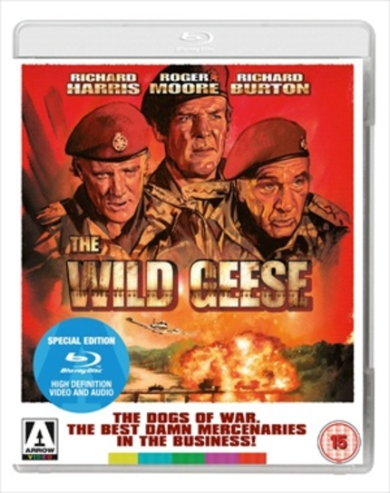 Blu-ray Review: THE WILD GEESE Show What Real Men Are Made Of