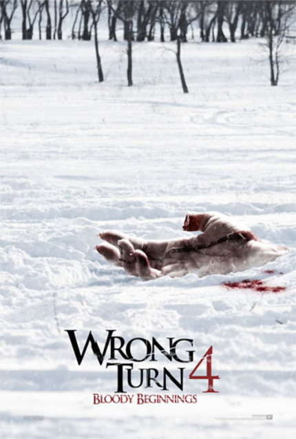 WRONG TURN 4: BLOODY BEGINNINGS Heads Backwards (DVD Review)