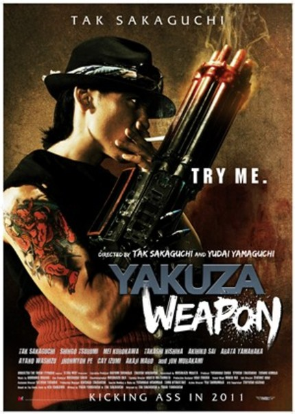 Behold The Coming Of The YAKUZA WEAPON!