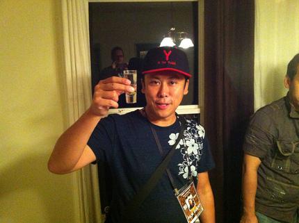 Fantastic Fest: Yamaguchi Yudai Drunkenly Reviews Yamaguchi Yudai's TEBANA SANKICHI