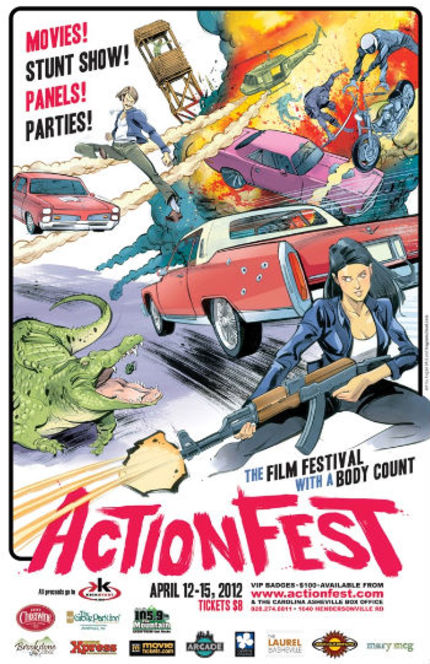 ActionFest 2012 Unveils (Almost) Complete Film And Guest Lineup!