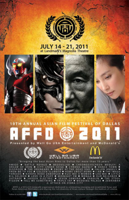 The Asian Film Festival Of Dallas Celebrates 10 Years In Style.