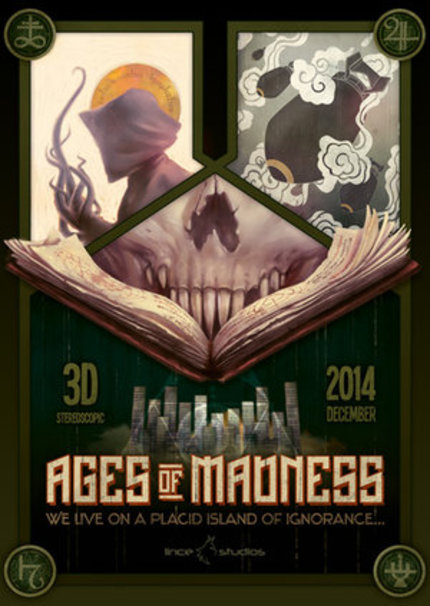 First Teaser For H.P. Lovecraft-Inspired Animated Film AGES OF MADNESS