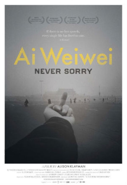Review: AI WEIWEI: NEVER SORRY Throws Stones, Gracefully