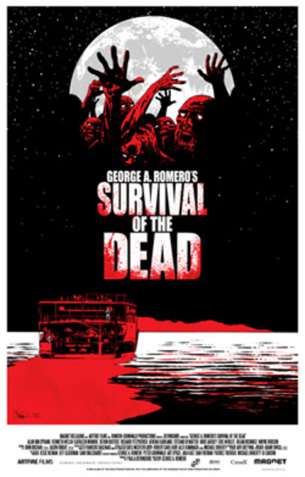 Poster Alert! Survival Of The Dead and The Warriors.