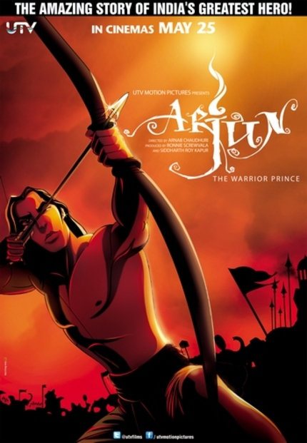 Animated UTV/Disney Indian Co-production ARJUN: THE WARRIOR PRINCE Opens Friday, Here's The Trailer!