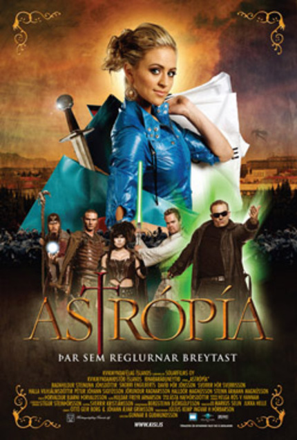 Astropia/Droks and Damsels poster art