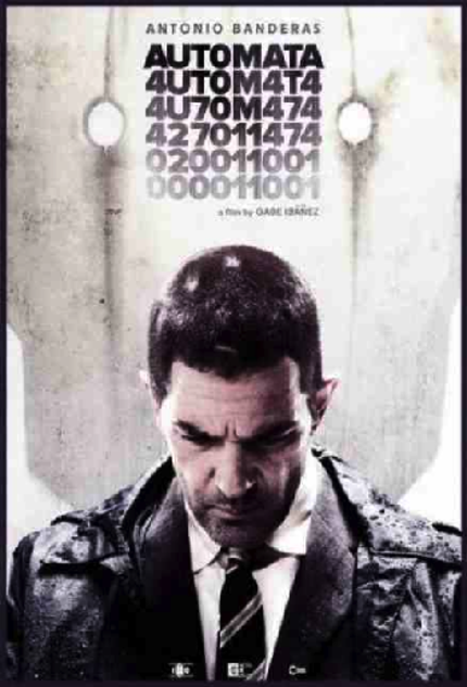 Banderas to the future: First Poster for AUTÓMATA