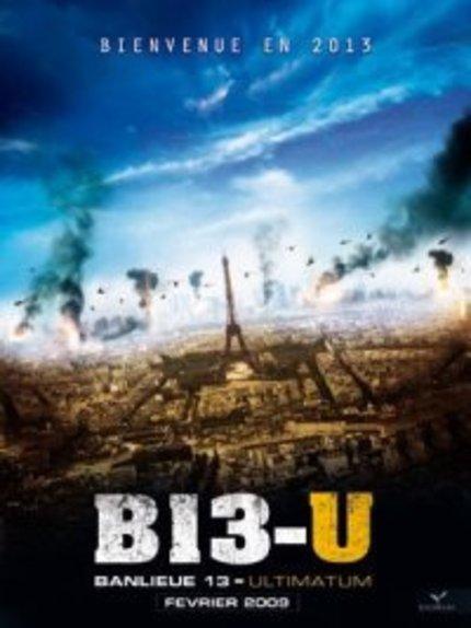 Cyril Raffaelli Kicks Some Ass.  Brand New BANLIEUE 13: ULTIMATUM Video!