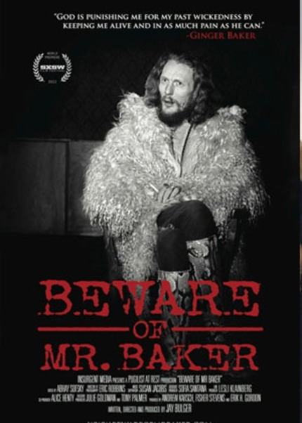 HotDocs 2012 Review: BEWARE OF MR. BAKER, As Drummer Still Packs a Wallop