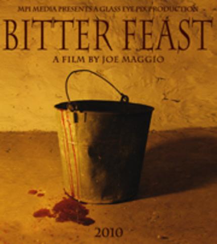 Teaser for Joe Maggio's 'Bitter Feast'