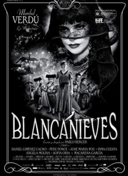 BLANCANIEVES to Screen in Canada via D Films