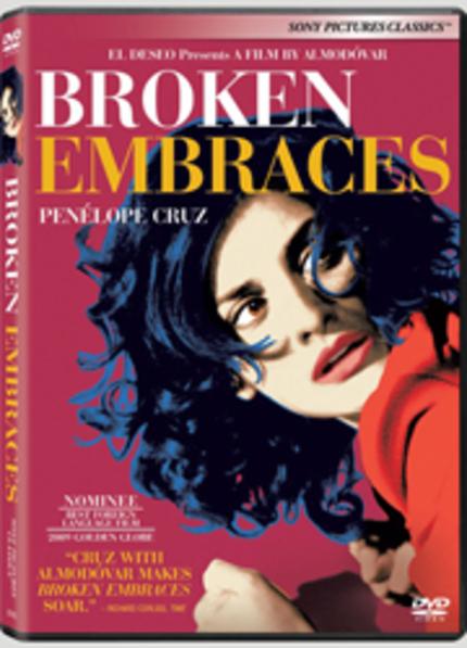 'Broken Embraces' DVD giveaway!