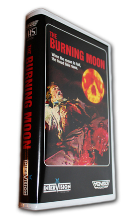 Burning Moon VHS On Sale NOW!