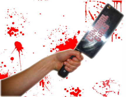 Give A Geek A Gift: The CANNIBAL GIRLS Meat Cleaver