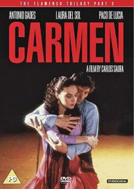 DVD Review: The Flamenco Trilogy, CARMEN (1983)
