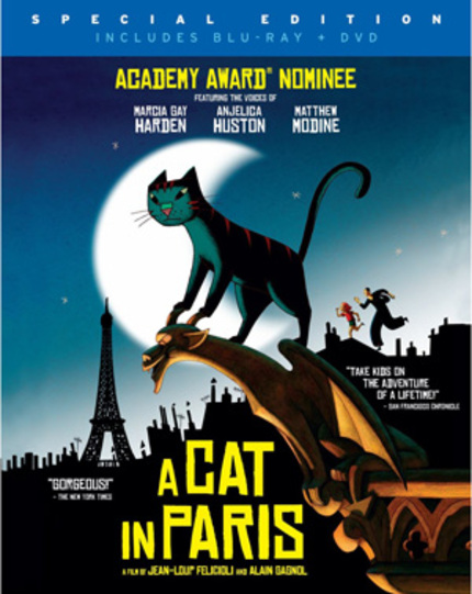Blu-ray Review: A CAT IN PARIS Delivers Charm & Adventure For The School-Aged Set
