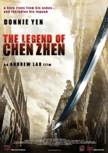 First Footage for THE LEGEND OF CHEN ZHEN