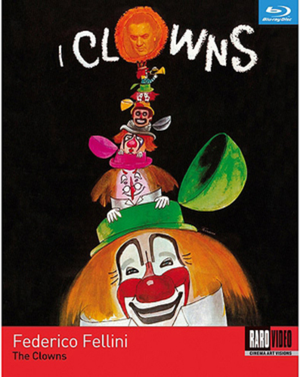 RaroVideo USA Enters Blu-ray Market With THE CLOWNS October 17