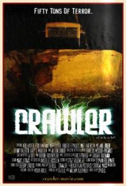 Beware The Giant Alien Bulldozer Of Doom!  It's A Teaser For CRAWLER