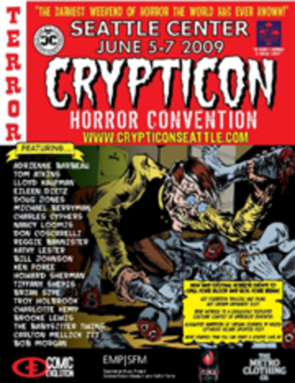 CRYPTICON Invades Seattle June 5, 6 and 7