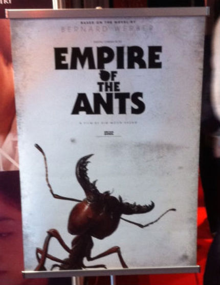 SKY BLUE Director Boards 3D EMPIRE OF THE ANTS Animation
