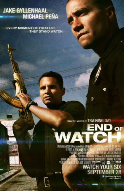 TIFF 2012 Review: END OF WATCH, a Gritty, Realistic Police Story