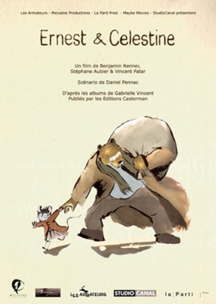 Thoroughly Charming Trailer For ERNEST AND CELESTINE