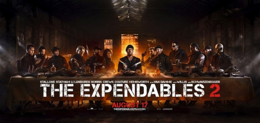 Hey NYC! Wanna See THE EXPENDABLES 2 for Free?