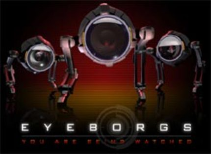 It's Video Cameras Gone Bad in Richard Clabaugh's EYEBORGS