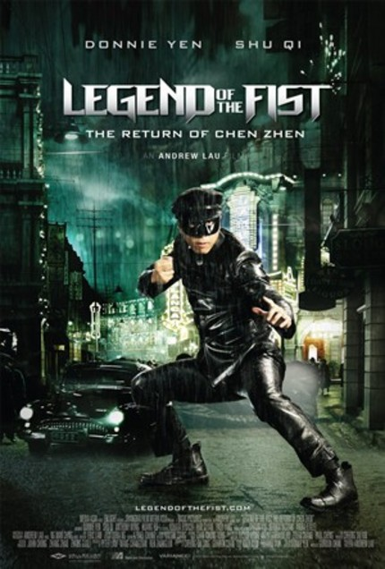 Andrew Lau's LEGEND OF THE FIST Hits US DVD And BluRay This Week. Last Chance To Win A Massive WellGo Prize Pack!