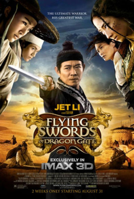 Watch The High Octane US Trailer For Tsui Hark's FLYING SWORDS OF DRAGON GATE