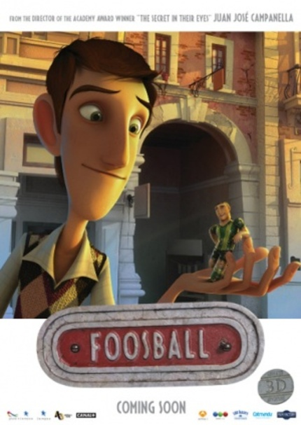 Teaser And Making-Of Video For Juan Jose Campanella's Animated Film FOOSBALL
