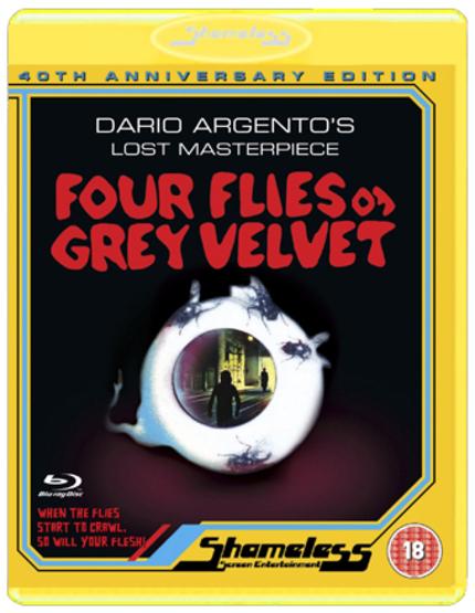 [UPDATE: Region Free!] FOUR FLIES ON GREY VELVET Blu-ray Details From Shameless Screen Entertainment