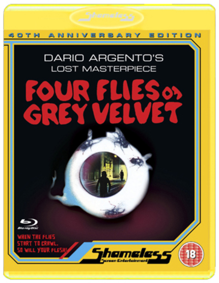 Blu-ray Review: FOUR FLIES ON GREY VELVET