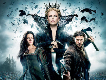 Contest: Win a SNOW WHITE AND THE HUNTSMAN Blu-ray Prize Pack