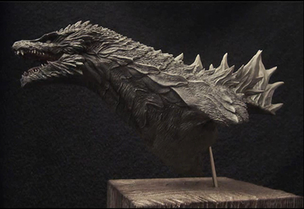 Is this How GODZILLA will Look in the US Reboot? **UPDATE**