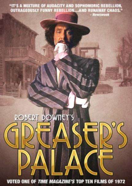 Robert Downey's GREASERS PALACE Returns to DVD