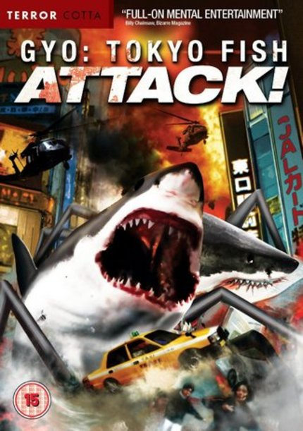 DVD Review: GYO: TOKYO FISH ATTACK! (Terror Cotta)