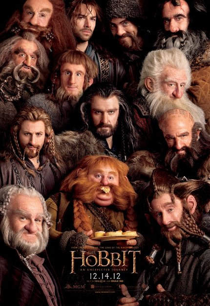 Look, sir, Dwarves. THE HOBBIT Poster Makes Its Debut